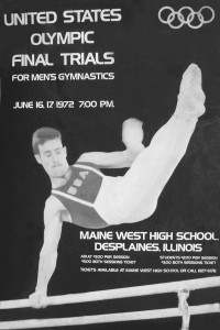 Poster 1972 Olympic Trials